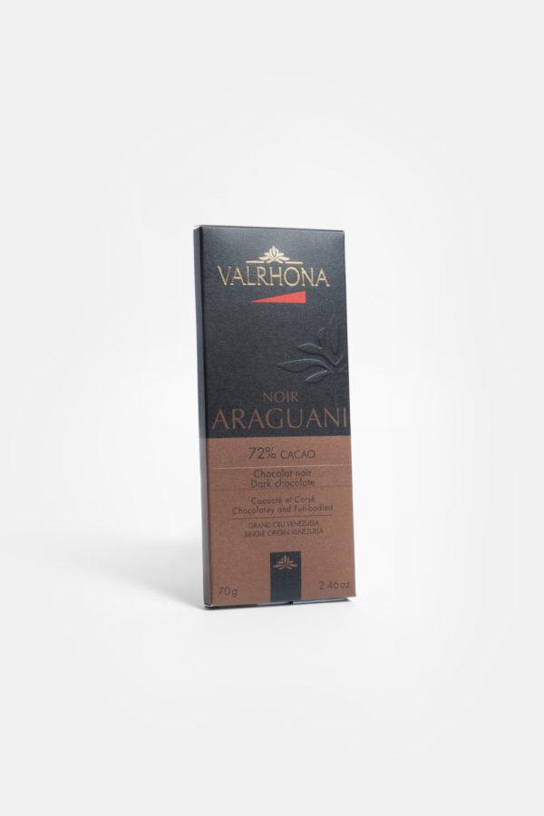 VALRHONA ARAGUANI PURE VENEZUELA 72% - DARK CHCOCOLATE - 70G