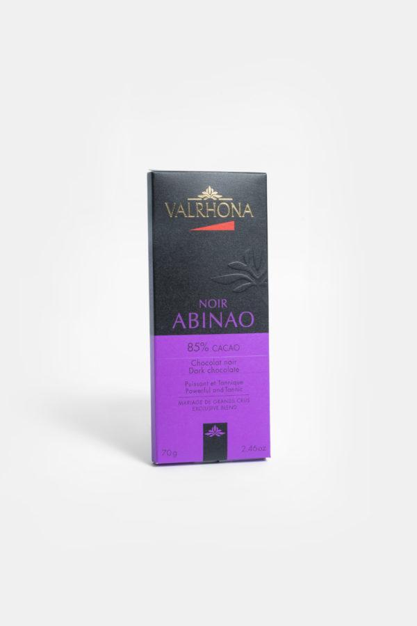 VALRHONA ABINAO 85% - DARK CHCOCOLATE - 70G